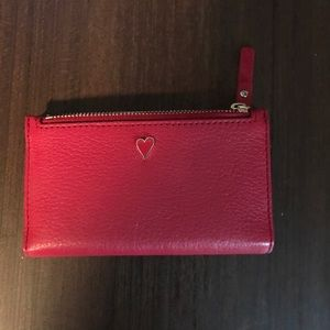 Kate Spade heart valentines wallet NWT